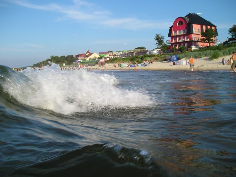 Widok od strony morza