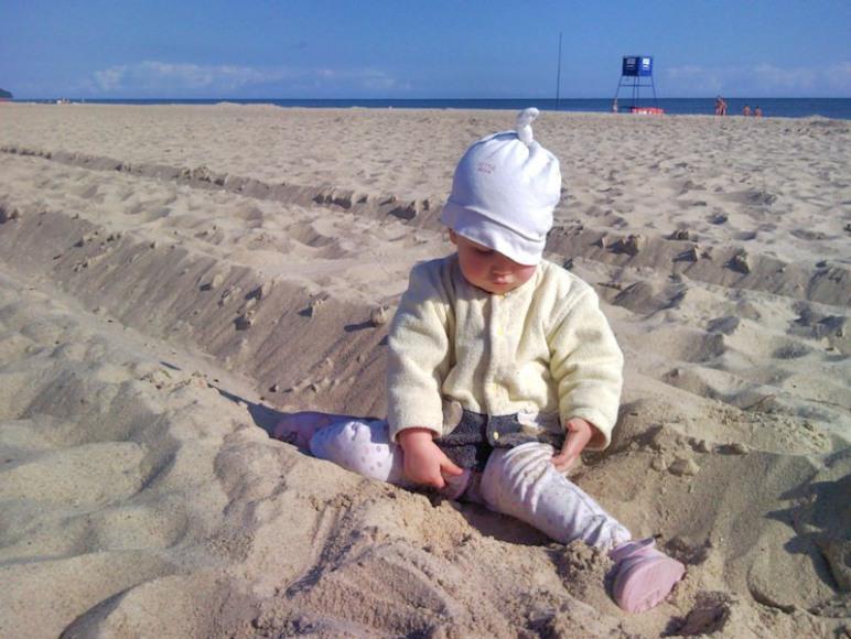 Plaża 7 rano