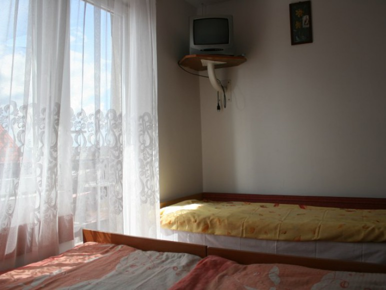 Pokój z balkonem