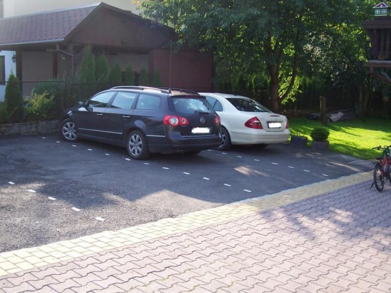 zamykany parking