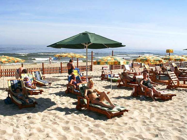 Wydzielona plaża