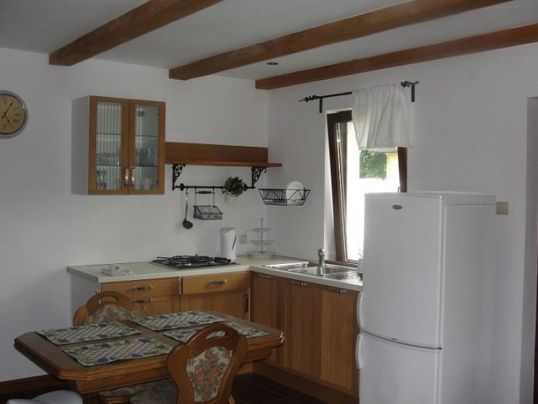 Kuchnia w domku nr2
