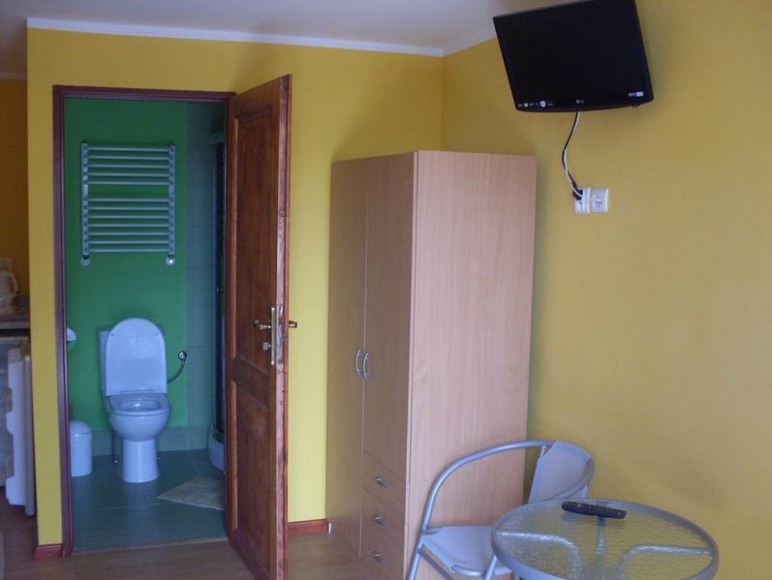 Pokoje dwuosobowe na piętrze