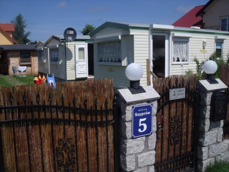 Domki holenderskie u Szypra