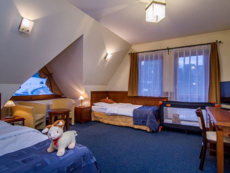 Pokój 2-osobowy z łóżeczkiem