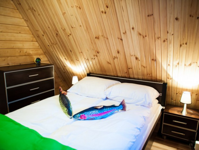 Sypialnia w domku Sola