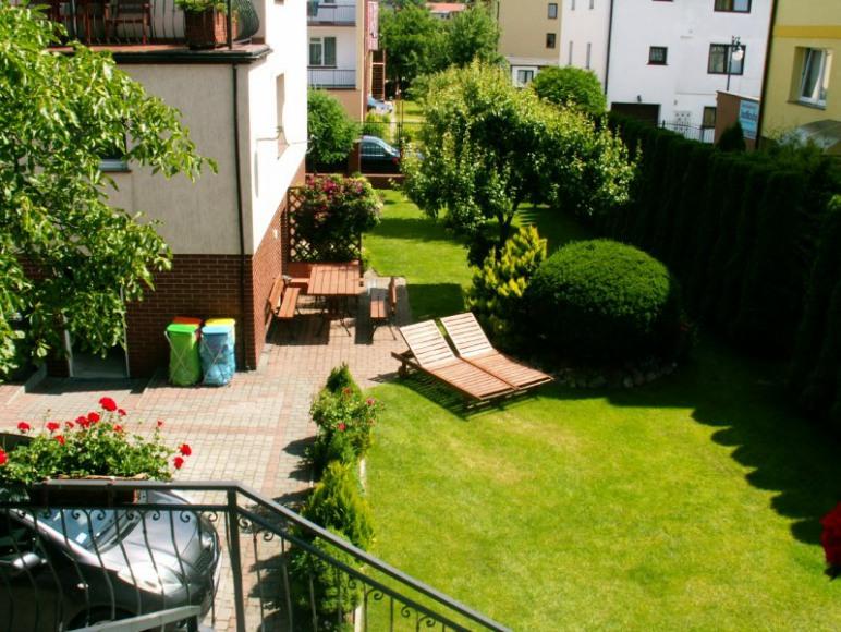 widok na ogród