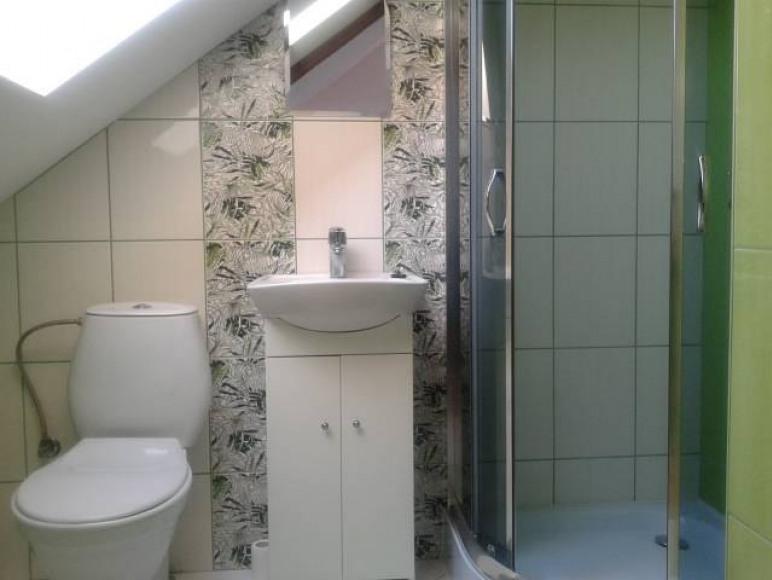 łazienka do pokoju dużego