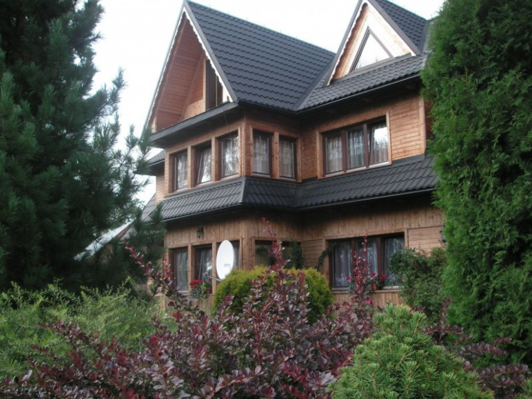 dom od strony południowej