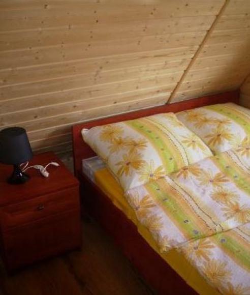 Sypialnie na górze domek 1 i 2