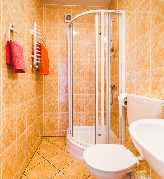 łazienka - wszystkie pokoje mają własne łazienki
