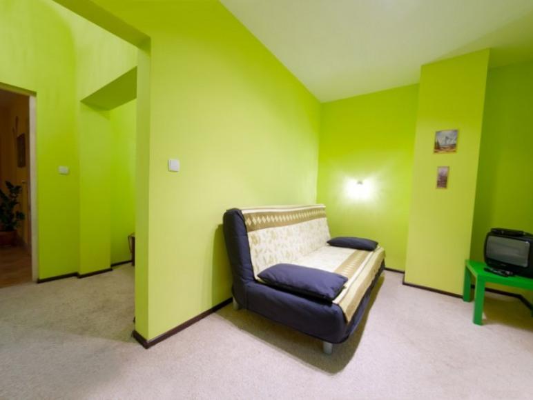 Zielone Jabłko pokój dwu częśćiowy
