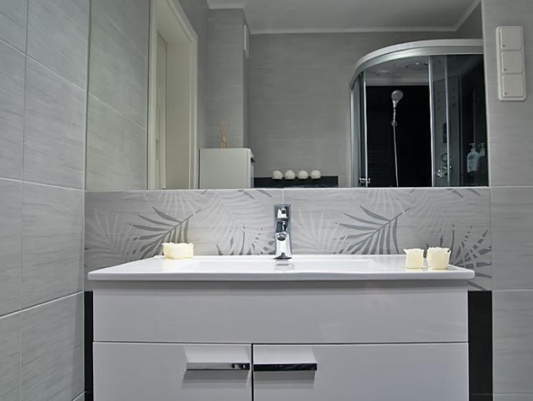 Apart. Diamentowy - łazienka