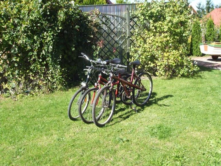 rowery do dyspozycji gości