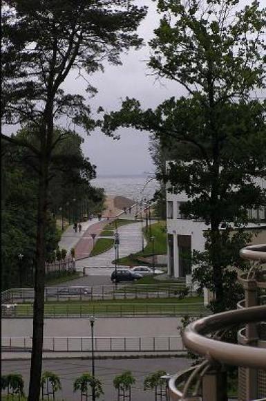 Świnoujście apartament z widokiem na morze