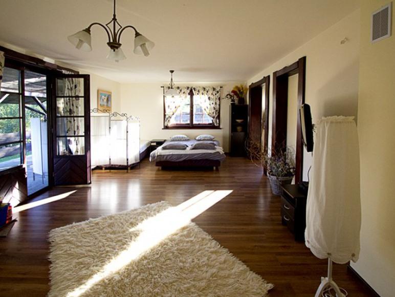 Apartament Angielski - sypialnia