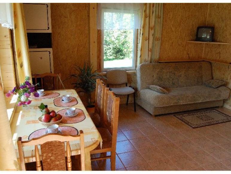 Domki rodzinne nad Sanem w Myczkowcach