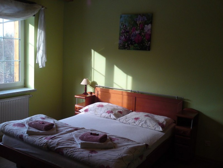 sypialnia apartamentu nr. 2