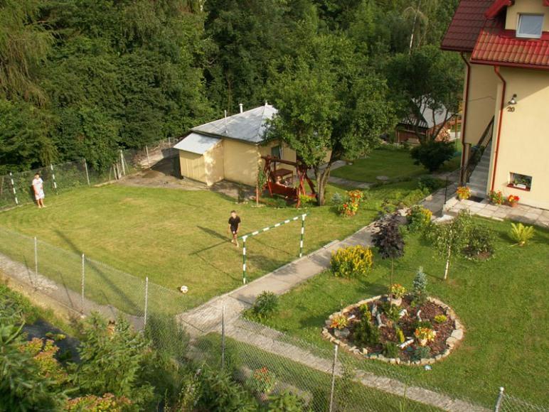 Widok na ogród.