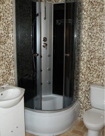 Domek 4 osobowy łazienka