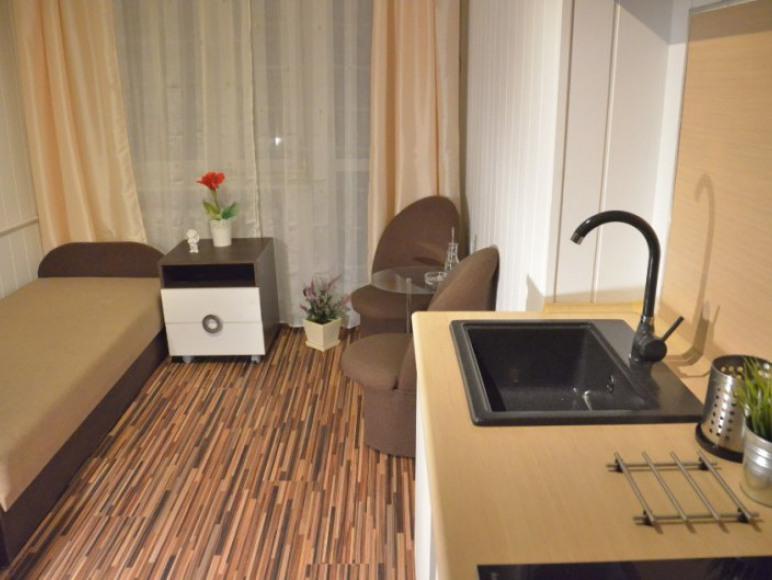 Apartament - sypialnia 2os. z aneksem