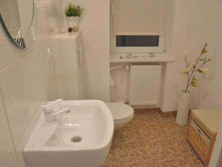 Apartament- łazienka z otwartą kabiną