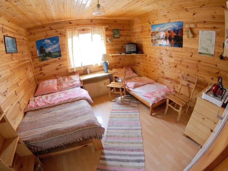 Wnętrze domku