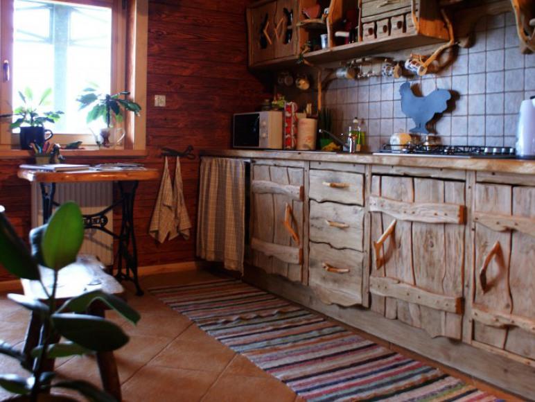 Agroturystyka Żabi Raj - w pełni wyposażona kuchnia