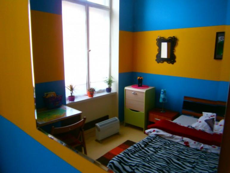 "Pokój ""Ukraina viva"" w Hostelu Fraszka"