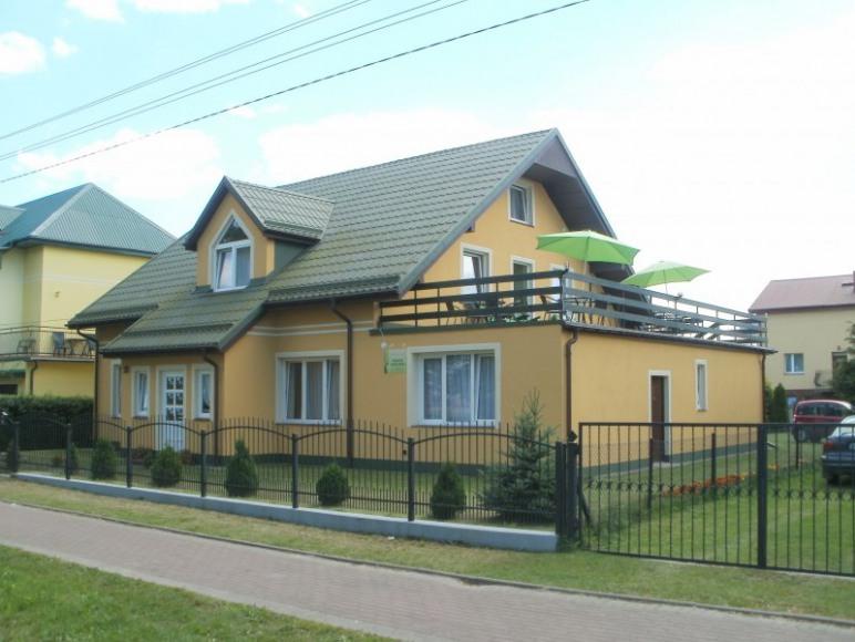 Dom od ul. Lebskiej