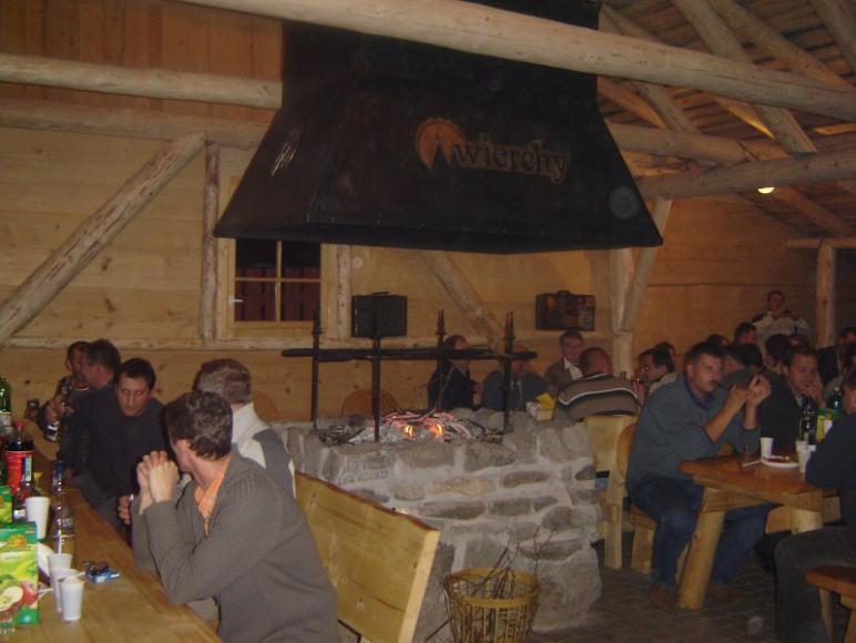 Chata Góralska -wnętrze