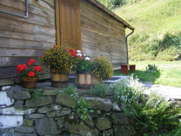 Domek od strony wejścia