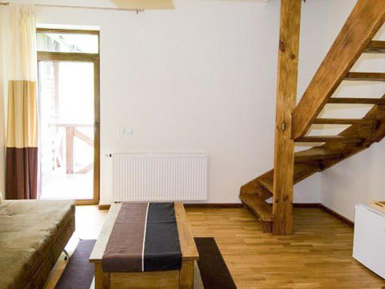 Apartament bez aneksu kuchennego - pokój dzienny