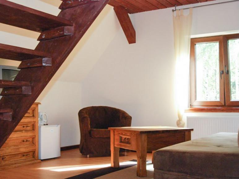 Apartament bez anesku kuchennego - pokój dzienny