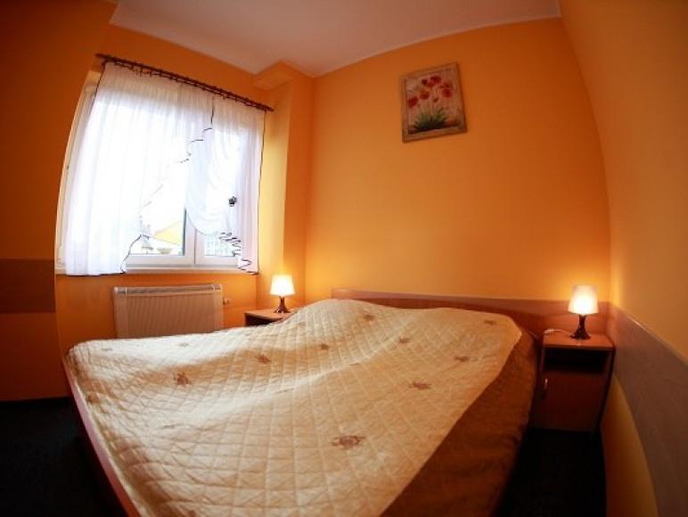 wygodne łóżka, przyjemne pokoje