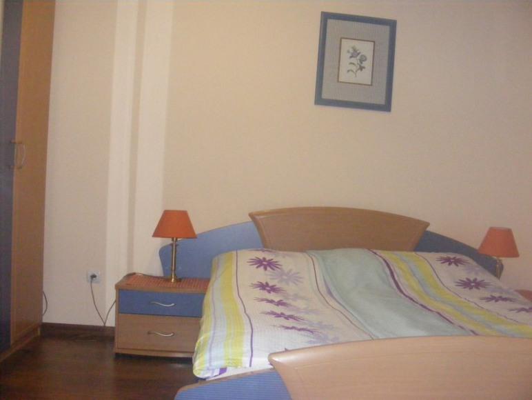 sypialnia w mniejszym domu