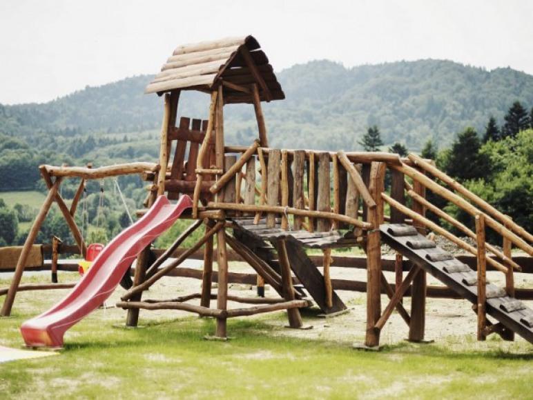 Chata w Bieszczadach - Plac zabaw