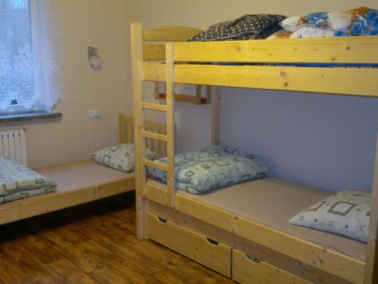 Pokój 5 osobowy z łóżkiem piętrowym