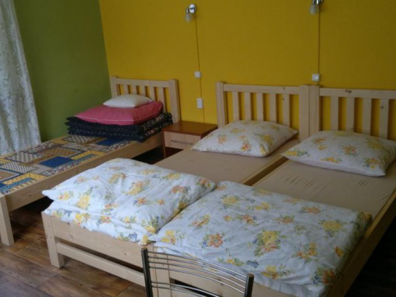 Pokój 4 osobowy-możliwość łączenia łóżek