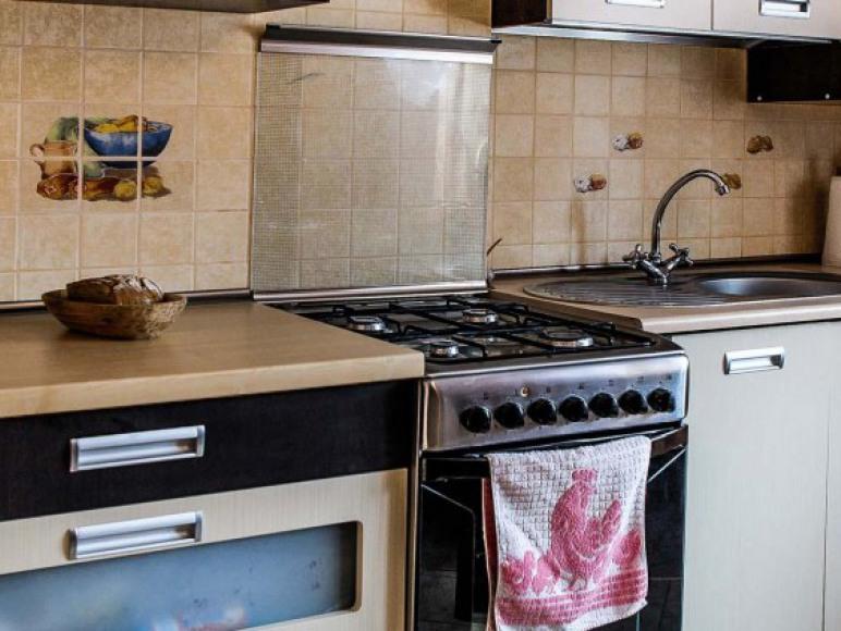 Kuchnia na parterze domu (w pełni wyposażona)