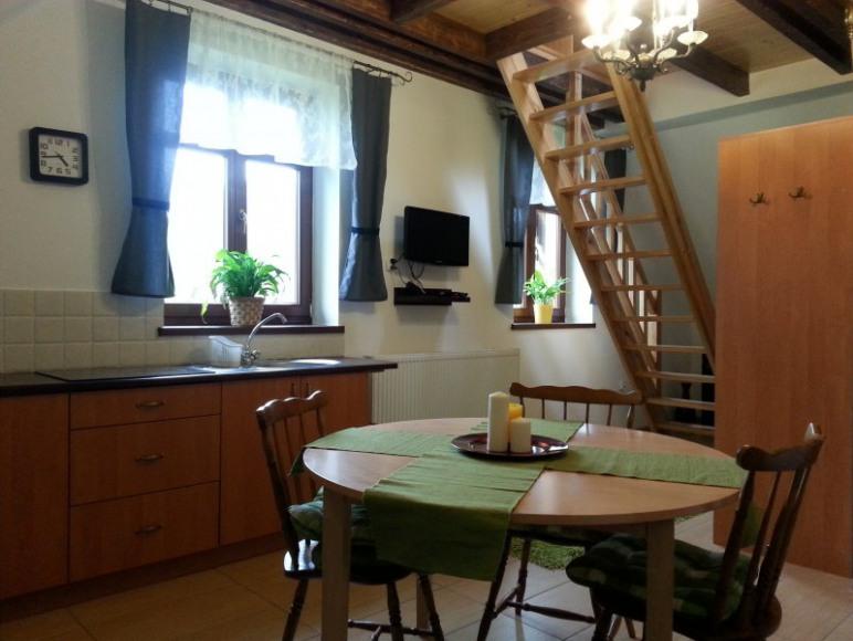 apartament 4 os z łóżkiem piętrowym