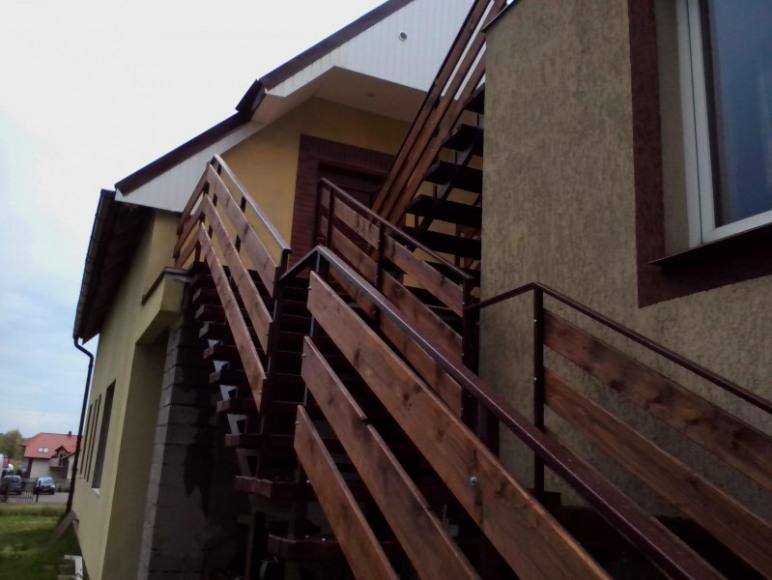 Schody do apartamentu