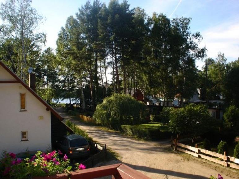 Domek nad jeziorem Głębokie koło Międzyrzecza