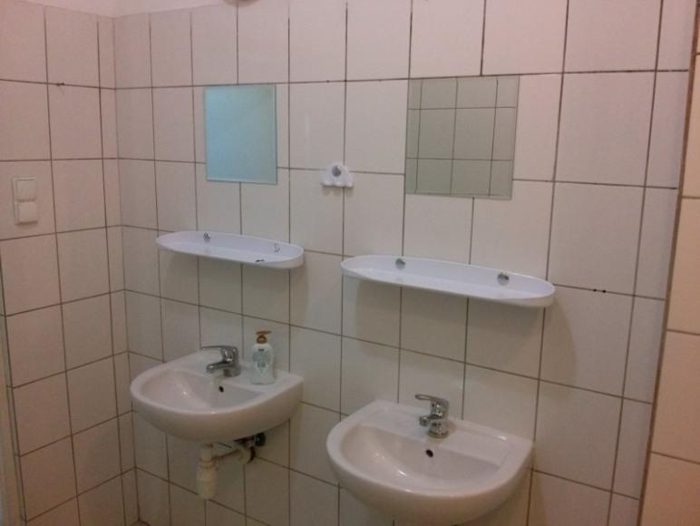 Łazienka w pokojach Hotelu
