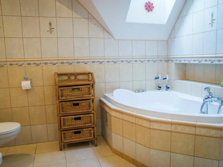 Łazienka pokoju zielonego