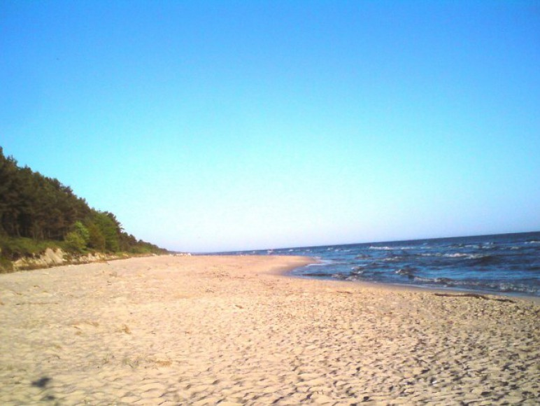 Plaża w Kątach Rybackich