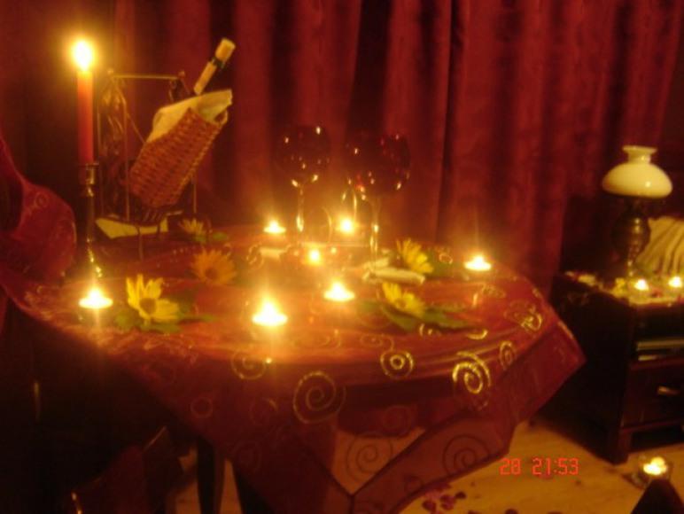 Romantyczna dekoracja