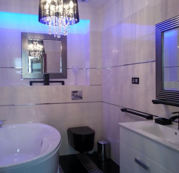 Biały łazienka