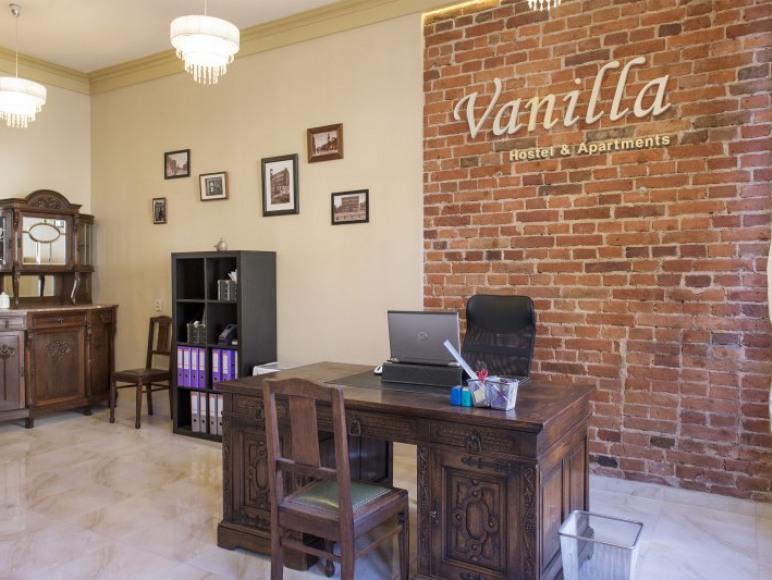 Vanilla Hostel - recepcja, noclegi Wrocław, ul. Traugutta 35