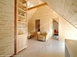 Drewniane 3 domki nad jeziorem+apartamenty z plażą
